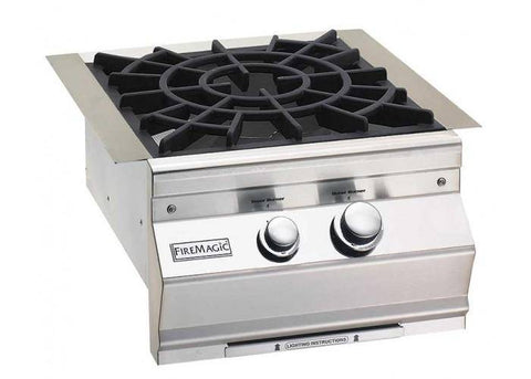 Fire Magic 2020 Classic Power Burner With Porcelain Cast Iron Cooking Grid - 19-KB2-0 - JwGrills