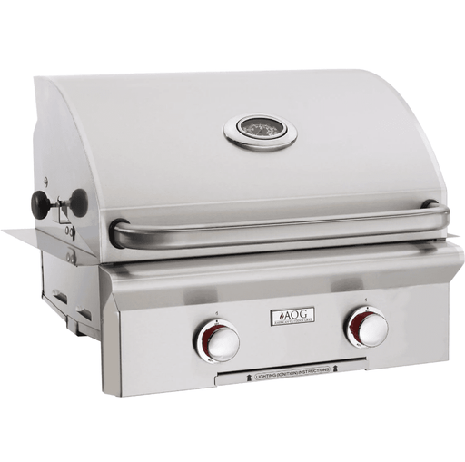 American Outdoor Grill T-Series 24-Inch 2-Burner Built-In Natural Gas Grill - 24NBT-00SP - JwGrills