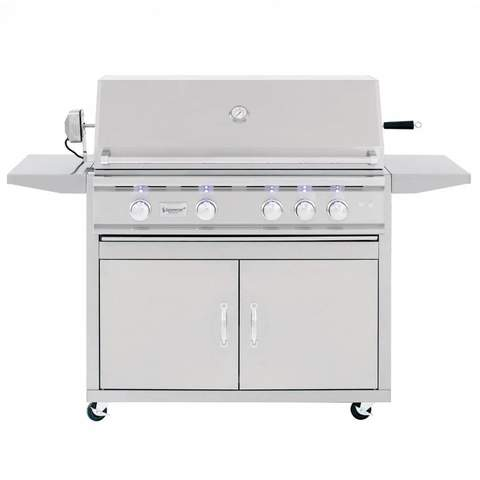 "Summerset TRL 38"" 4-Burner Built-in Grill - TLR38-NG - JwGrills"