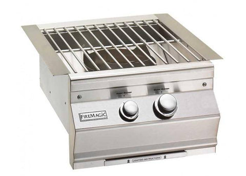 Fire Magic Aurora Power Burner With Stainless Steel Grid - 19-7B1-0 - JwGrills