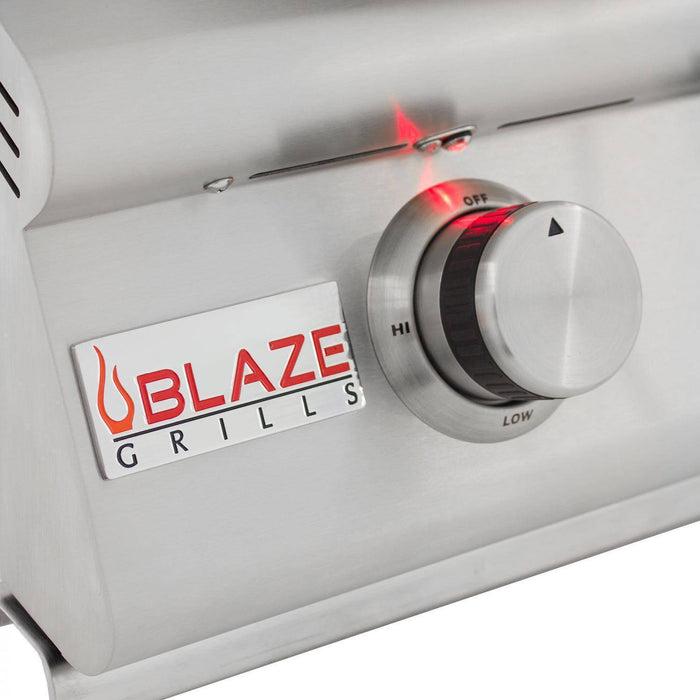 Blaze 40-Inch 5-Burner LTE Gas Grill With Rear Burner And Built-In Lighting System - BLZ-5LTE2-LP/NG - JwGrills