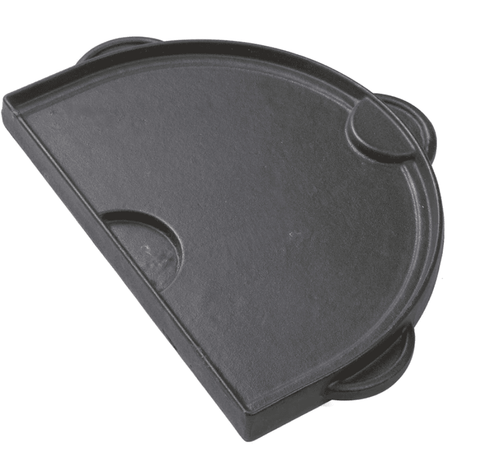Primo Half Moon Cast Iron Griddle For Oval Junior - JwGrills
