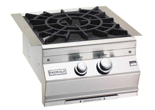Fire Magic 2020 Aurora Power Burner With Porcelain Cast Iron Grid - 19-7B2-0 - JwGrills