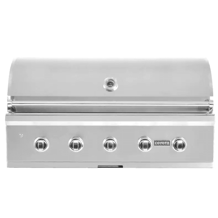 Coyote C-Series 42-Inch 5-Burner Built-In Propane Gas Grill - C2C42LP - JwGrills