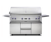 "VIKING 54""W. Freestanding Grill with ProSear Burner and Rotisserie - VQGFS5541 - JwGrills"
