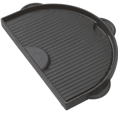 Primo Half Moon Cast Iron Griddle For Oval Large - JwGrills