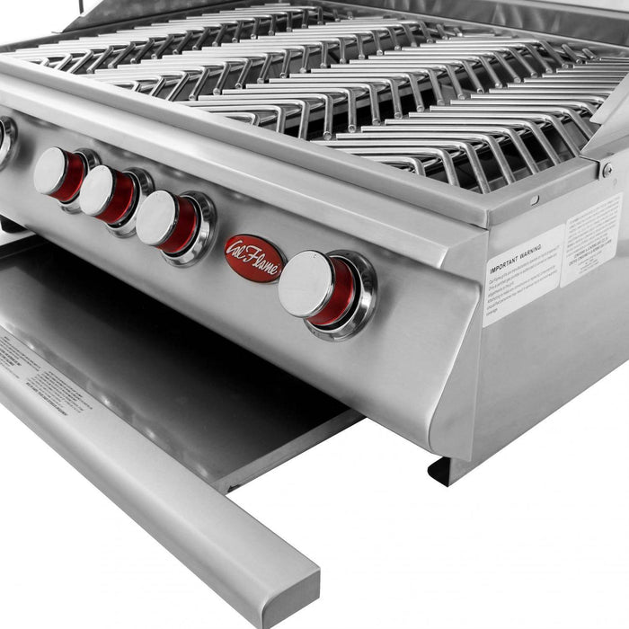 Cal Flame P Series P4 Built-In 4-Burner - BBQ18P04 - JwGrills