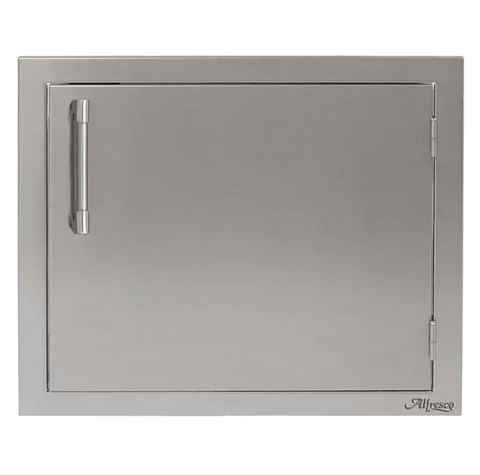 Alfresco 23-Inch Right-Hinged Vertical Single Access Door - AXE-23R - JwGrills