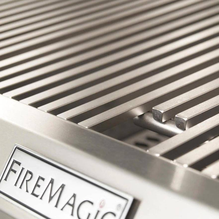 Fire Magic Aurora A830I 46-Inch Built-In Gas & Charcoal Combo Grill With Analog Thermometer and Rotisserie Kit - A830I-8EAP-CB - JwGrills
