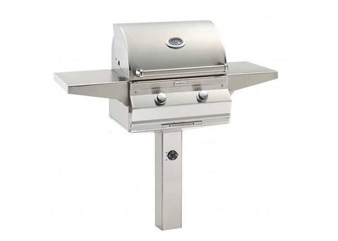 Fire Magic Choice C430 24-inch In-Ground Post Mount Grill -  C430s-RT1-G6 - JwGrills
