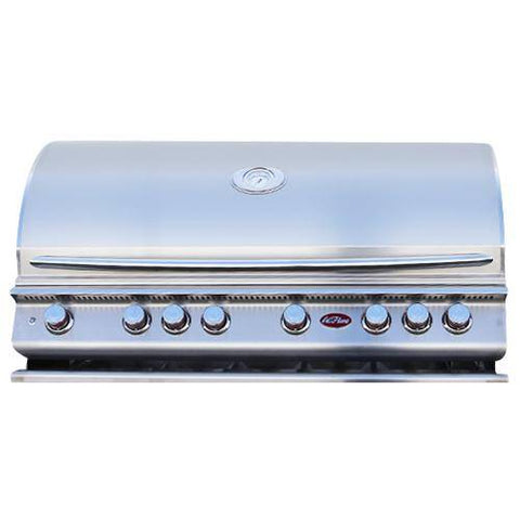 Image of Cal Flame P Series P6 Built-In 6-Burner - BBQ18P06 - JwGrills