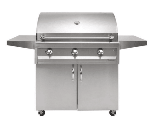 Image of Artisan AAEP-32C American Eagle Series 32-Inch Gas Grill on Cart - JwGrills
