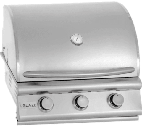 Image of Blaze Prelude LBM 32-Inch 4-Burner Built-In Natural Gas Grill - BLZ-4LBM-NG - JwGrills