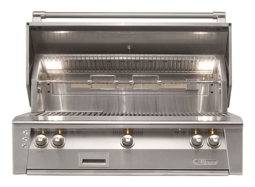 Alfresco ALXE-42-LP 42-Inch Built-In Propane Gas Grill With Rotisserie - JwGrills