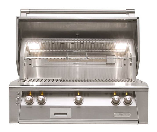 Alfresco ALXE-36-NG 36-Inch Built-In Natural Gas Grill With Rotisserie - JwGrills