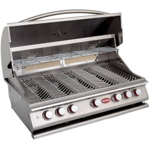 Image of Cal Flame P Series P5 Built-In 5-Burner - BBQ18P05 - JwGrills