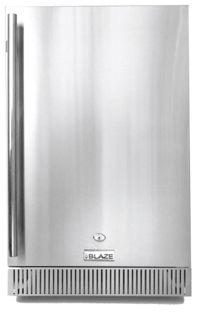 Blaze 4.1 CU. FT. Outdoor Stainless Steel Compact Refrigerator – UL APPROVED - BLZ-SSRF-40DH - JwGrills