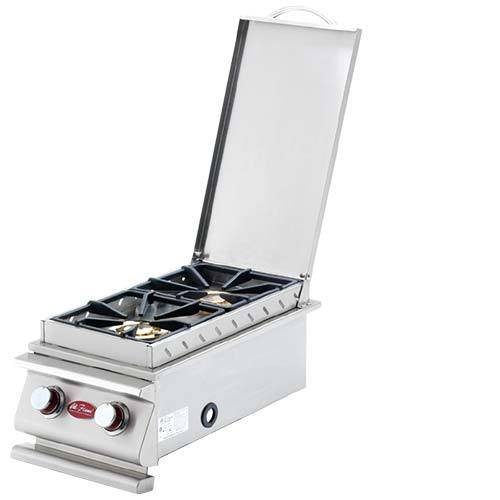 Cal Flame Deluxe Double Side Burner - BBQ14899P - JwGrills