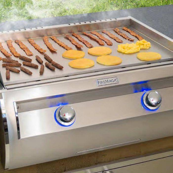 Fire Magic Echelon Built-In Gourmet Griddle - E660i-0T4 - JwGrills