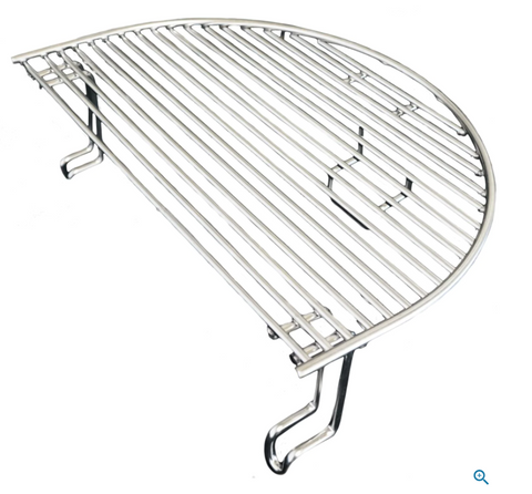 Primo Extended Cooking Rack For Oval XL And Large Round Kamado - 332 - JwGrills