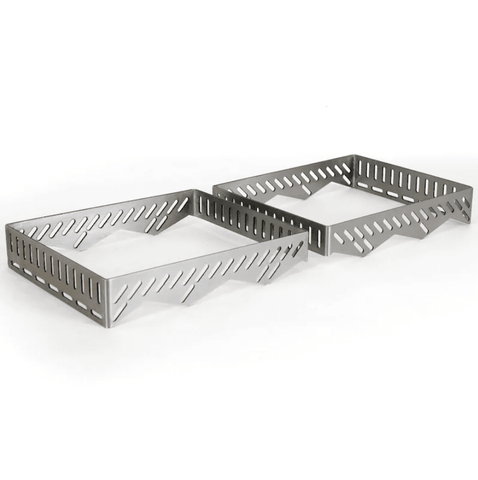 Primo Heat Deflector/Drip Pan Rack For Oval G420 Gas Kamado Grill - G400 - JwGrills