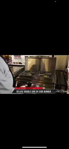 Cal Flame Deluxe Double Side By Side Burner - BBQ14954P-1 - JwGrills