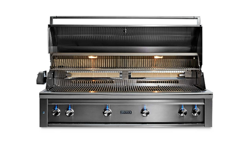 "LYNX 54"" PROFESSIONAL BUILT-IN GRILL WITH 1 TRIDENT INFRARED BURNER AND 3 CERAMIC BURNERS AND ROTISSERIE (L54TR) - JwGrills"