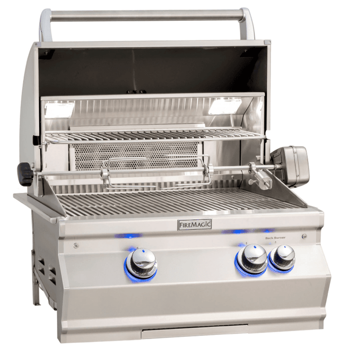 Fire Magic Aurora A540i Built-In Grill with Rotisserie Kit - A540I-8EAN - JwGrills