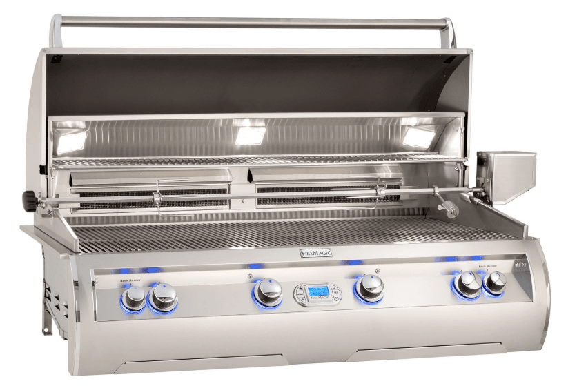 Fire Magic Echelon Diamond E1060i Built-In Grill with Window and Digital Thermometer - E1060I-8E1N-W - JwGrills