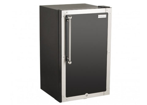 Fire Magic Black Diamond Refrigerator, 4 cubic feet, Right Hinge - 3598H-DR - JwGrills