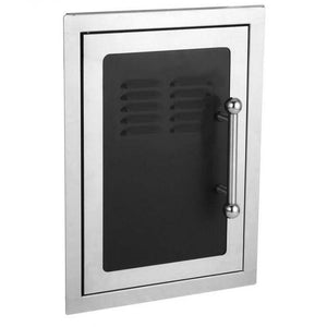 Fire Magic 53820H-TS Premium Black Diamond Single Access Door with Tank Tray, 14.5x21-Inch - 53820H-TS - JwGrills