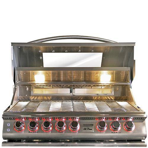 Cal Flame Top Gun 5-Burner Convection Grill - BBQ18875CTG - JwGrills