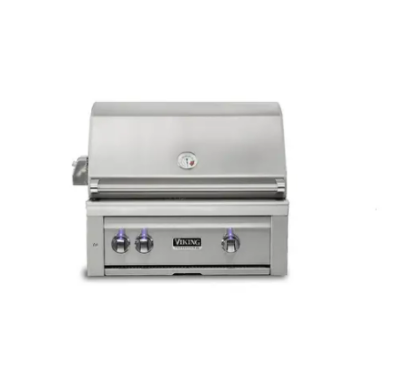 "Image of VIKING 30""W. Built-in Grill w ProSear Burner and Rotisserie - VQGI5301 - JwGrills"
