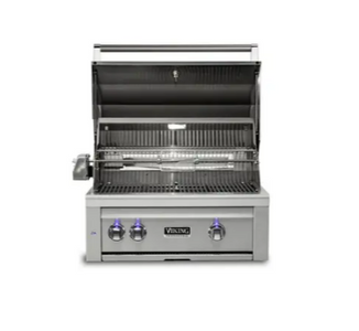 "VIKING 30""W. Built-in Grill w ProSear Burner and Rotisserie - VQGI5301 - JwGrills"