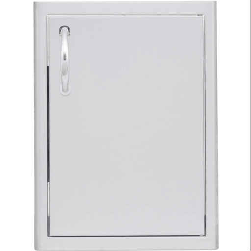 Blaze 18-Inch Right Hinged Stainless Steel Single Access Door - Vertical - BLZ-SV-1420-R - JwGrills