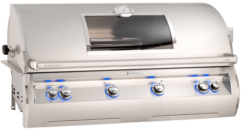 Image of Fire Magic Echelon Diamond E1060i Built-In Grill with Analog Thermometer and Window- E1060I-8EAN(P)-W - JwGrills