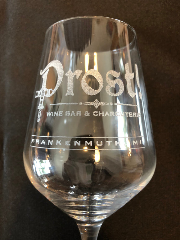 Wine Glasses with Custom Engraving (set of 12)