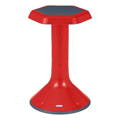 "Learniture Active Learning Chair/ Stool, 20"" H, Red, Lnt-3046-20Rd"