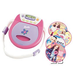 KIDdesign BARBIE SING WITH ME DISCGIRL CD PLAYER BE-157
