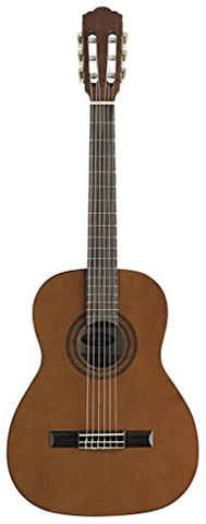Stagg C537 3/4-Size Nylon String Classical Guitar - Dark Natural