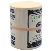 Money Wad Stress Toy | Durable foam | from T.A.Y.S. Co.