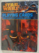 Star Wars Playing Cards Bundle of (2 Decks) Limited Edition The Story of Darth Vader and Heroes