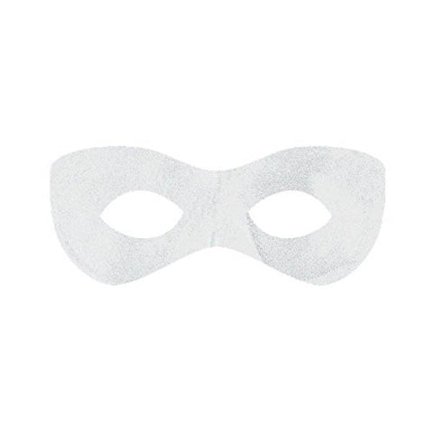 Amscan Super Hero Mask, Party Accessory, White