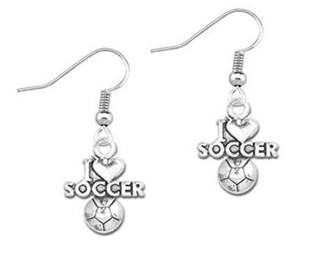 Soccer Earrings, Soccer Jewelry, Perfect Soccer Gifts for Girls