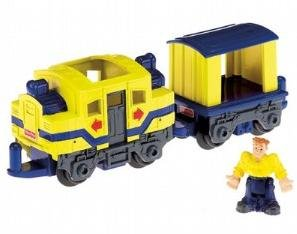 Fisher Price Geotrax Woohoo & Opie The Most Confused Team Push Vehicle 2007