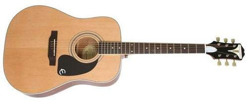 Epiphone 6 String Pro-1 Plus Acoustic, Natural (Eappnach1)