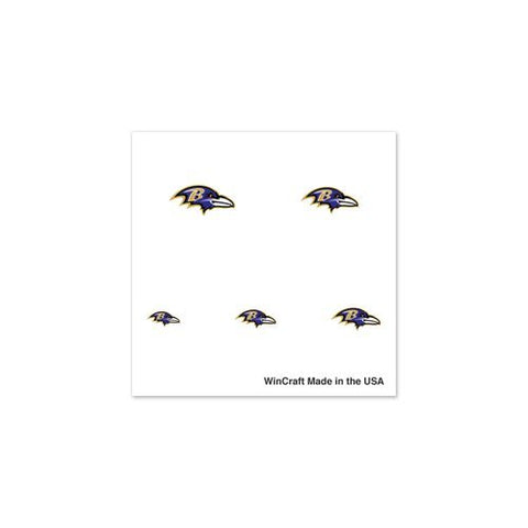 NFL Baltimore Ravens 75846091 Fingernail Tattoos