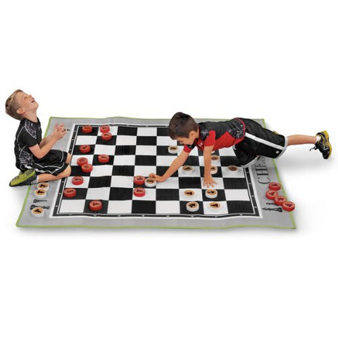 MAC-T PE08645 Giant Floor Game - Chess, Mat Size: 70  x 63  x 3/16