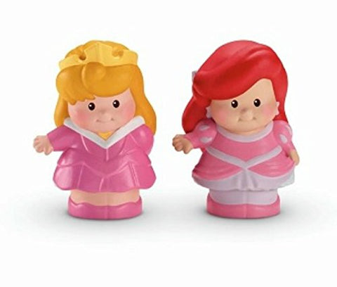 Fisher-Price Little People Two Disney Princesses Ariel and Aurora