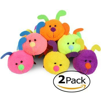 Fuzzy Friends 12.5 Inch Cuddle Caterpillars - Assorted Colors (2 Pk)